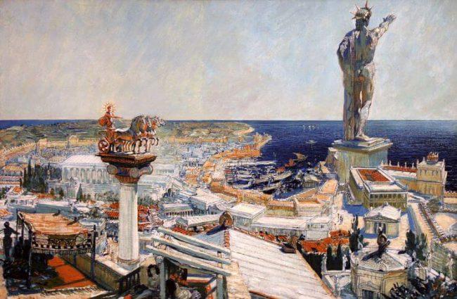 7 Maravillas del Mundo Antiguo: El Coloso de Rodas