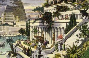 7 Maravillas del mundo: Jardines Colgantes de Babilonia