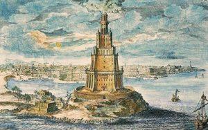 7 maravillas del mundo Faro de Alejandria