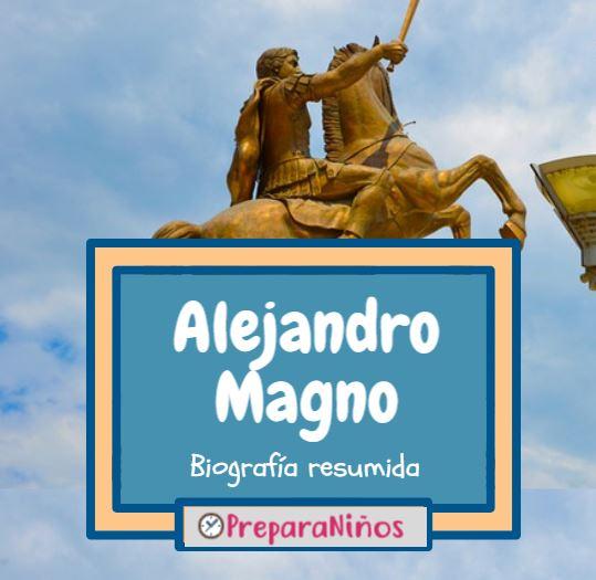 Alejandro Magno para niños