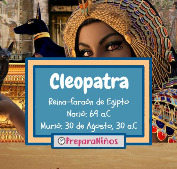 Cleopatra VII: Historia y Biografía de la Reina de Egipto