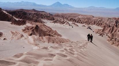 Desierto de Atacama en Los Andes