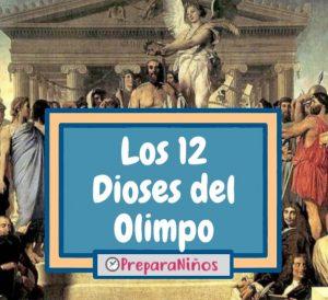 Dioses del Olimpo para niños