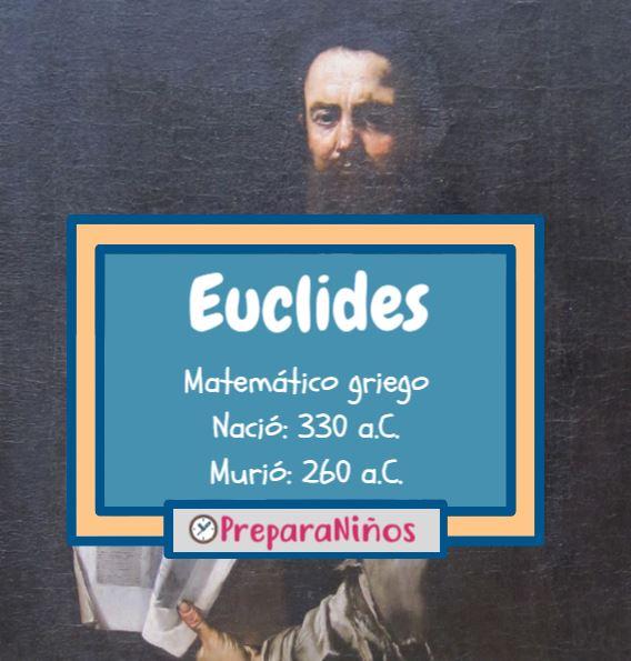quien fue Euclides para niños