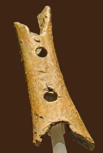 Flauta del paleolitico
