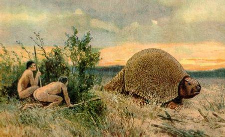 Humanos del paleolitico