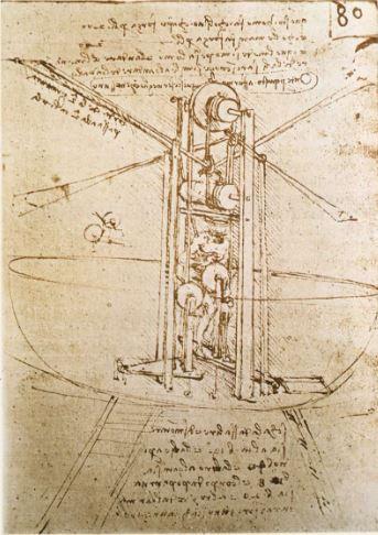Leonardo Da Vinci inventos
