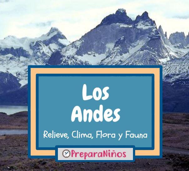 Los Andes para niños