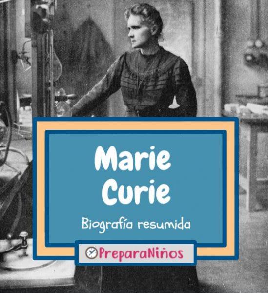 Marie Curie para niños