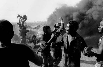Protestas en Sudáfrica