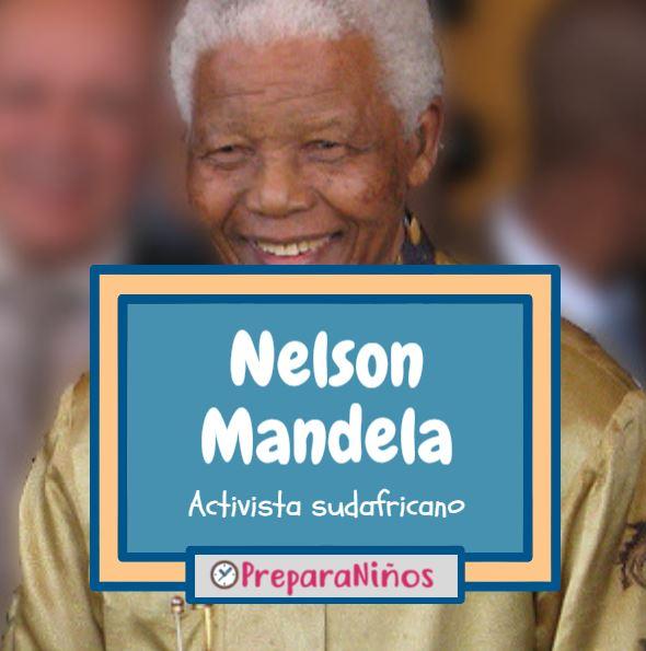 Nelson Mandela para niños
