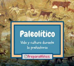 Paleolitico para niños