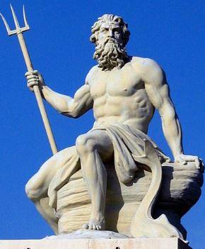 Poseidon. Dioses del Olimpo
