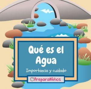 Qué es el agua para niños