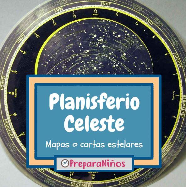 Planisferio Celeste o Mapa Estelar