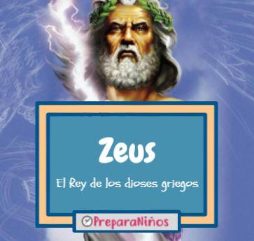 Zeus para niños