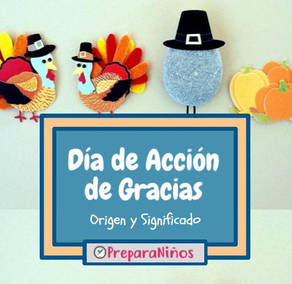 Día de acción de gracias para niños