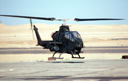 AH-1 Cobra helicoptero