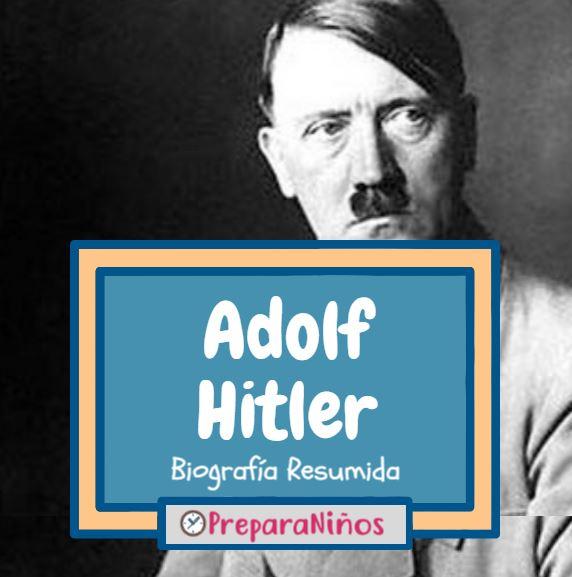 Adolf Hitler Historia para niños