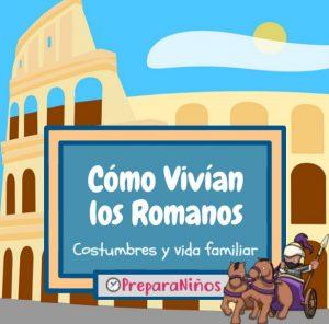 Como vivian los romanos para niños