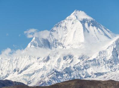 Cumbres del Himalaya Dhaulagiri
