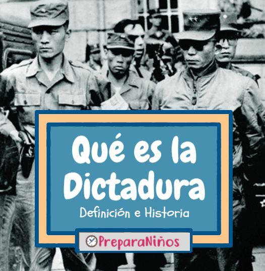 Dictadura para niños