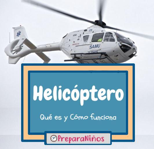 Helicóptero para niños