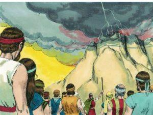 Historia de los 10 mandamientos para niños