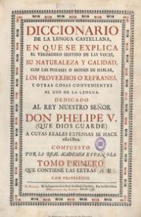 Historia del diccionario