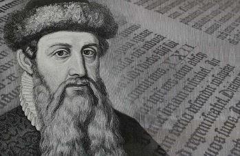 Johannes Gutenberg y la Imprenta