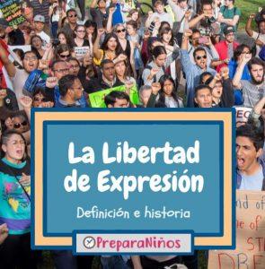 Libertad de Expresion para niños