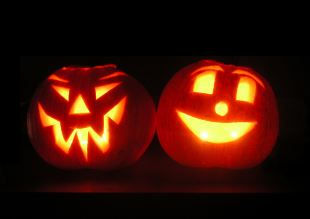 Linternas de calabaza de Halloween