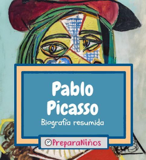 Pablo Picasso Biografia para niños