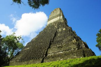 Piramide maya para niños