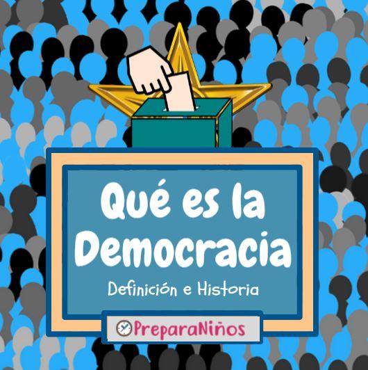 Que es la Democracia para niños