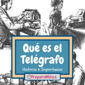 Telegrafo para niños