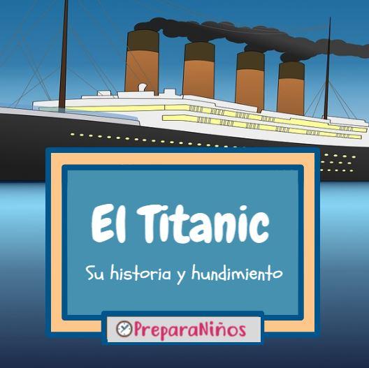 Titanic para niños