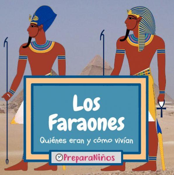 Faraones para niños