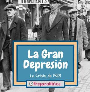 La Gran Depresion para niños