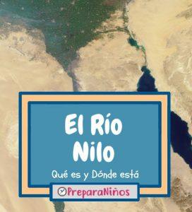 Rio Nilo para niños