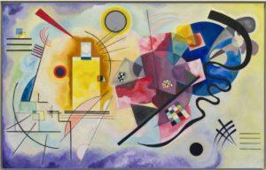Amarillo Rojo y Azul - Wassily Kandinsky