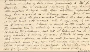 Carta de Edgar Allan Poe