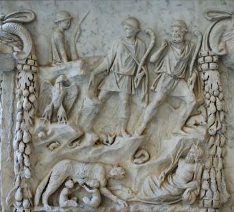 Leyenda de la fundacion de Roma