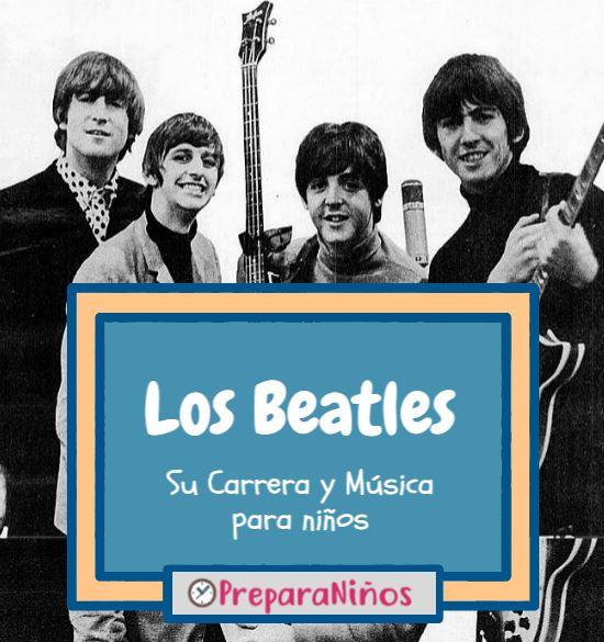 Los Beatles para niños