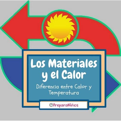El Calor y Los Materiales: Diferencia entre Calor y Temperatura