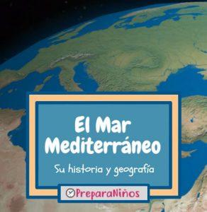 Mar Mediterraneo para niños