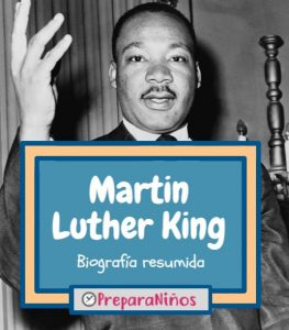 Martin Luther King para niños