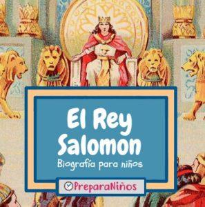 Rey Salomón para niños
