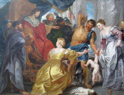 Salomón y las dos mujeres