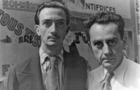 Salvador Dali y Man Ray